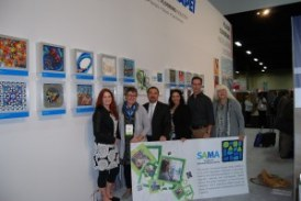 MAPEI Displays Mosaic Artists' Work at TISE