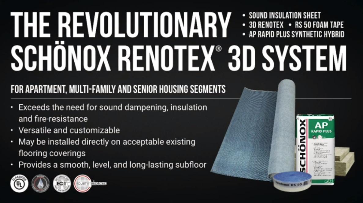 Schönox Renotex 3D - Product Series