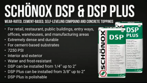 Schönox DSP & DSP Plus - Product Series