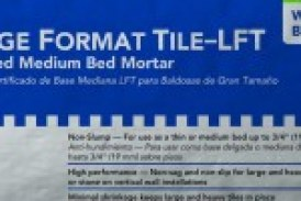 CUSTOM Launches New Large-Format Tile, Stone Mortar Lines