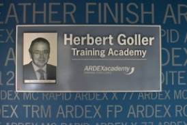 ARDEX Dedicates Academy to Company Founder