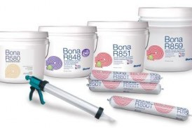 New wood flooring adhesives from Bona US