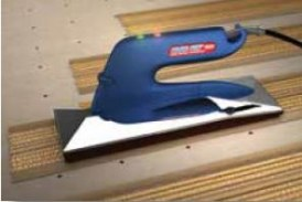 Traxx Corp. Blue Fin carpet seaming iron