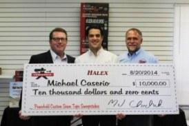 Halex Offers Powerhold Winner a Harley or Cash