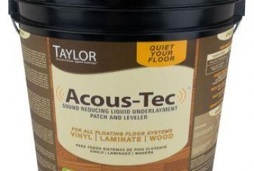W.F. Taylor Releases Video Featuring Acous-Tec Underlayment