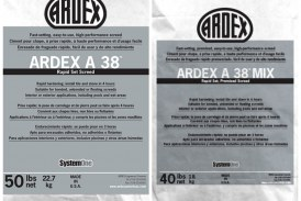 ARDEX introduces Rapid-Set Screeds ARDEX A 38, ARDEX A 38 MIX