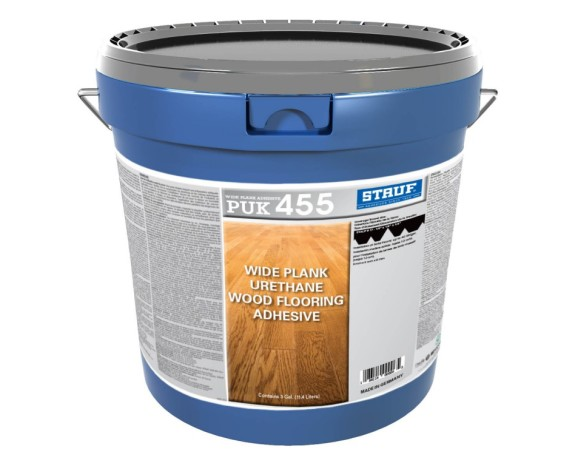 Stauf Launches PUK 455 Wide Plank Urethane Wood Flooring Adhesive