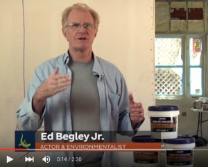 Ed Begley Jr.  LEED Platinum home Bostik