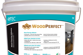 TEC® Introduces Breakthrough WoodPerfect Wood Flooring Adhesive