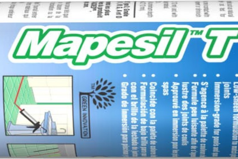 MAPEI's New Mapesil T Formulated to Produce the Perfect Flexible Seal