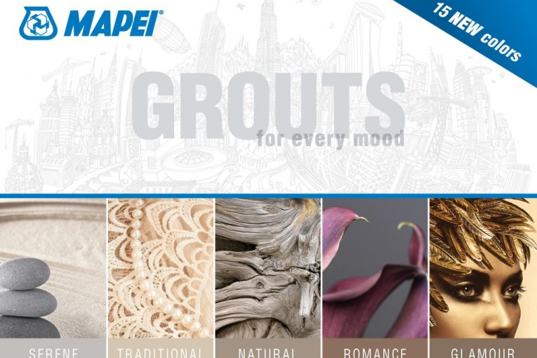 MAPEI's New Grout Palette Introduces Innovative Color Collections