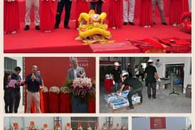 Laticrete Opens New Factory in China