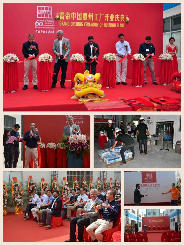 Laticrete Huizhou Plant Grand Opening