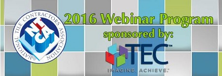 TEC, NTCA Webinar to focus on avoiding call backs - 4 Secrets to a Successful Tile Installation
