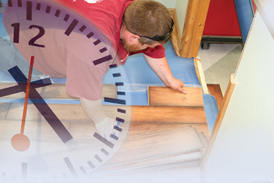 The flooring business is one of the best industries in America and we do little to promote it.