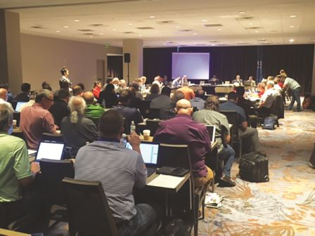 The recent Handbook meeting in Atlanta was probably the best-attended meeting in history. Photo courtesy Becky Serbin, NTCA