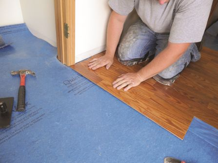 Using The Correct Underlay To Match Laminates And LVT - Noise cancelling flooring
