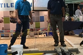 NTCA and CTEF Educate, Certify, Inspire Tile Contractors at R D J