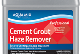 CUSTOM Introduces Aqua Mix Grout Haze Problem Solvers