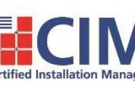 Certified Installation Manager Scholarship Awarded