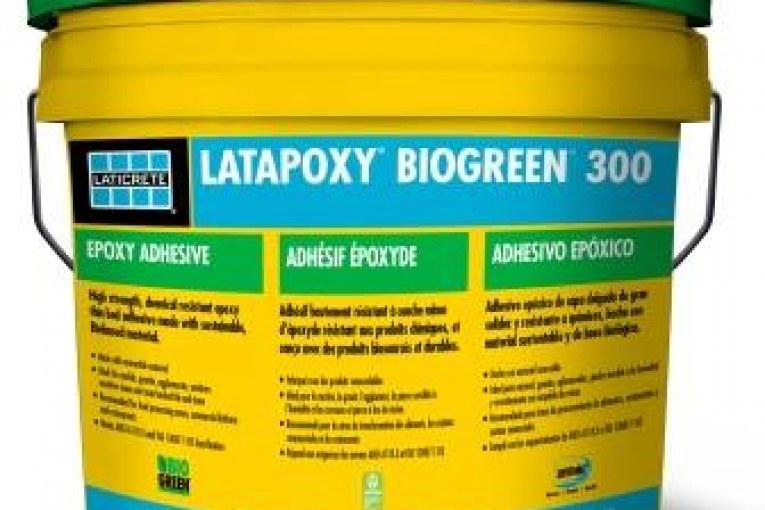 LATICRETE Introduces LATAPOXY BIOGREEN 300