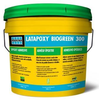 LATICRETE Introduces LATAPOXY BIOGREEN 300