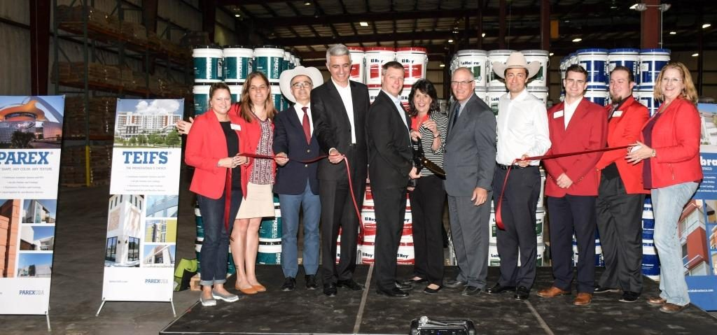 Ribbon-Cutting Ceremony for ParexUSA's Newly Opened Manufacturing Facility in Texas