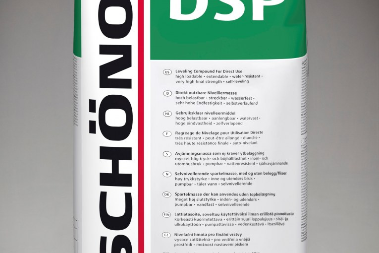 SCHÖNOX DSP ALLOWS YOU TO GET MORE WHEN GOING WITHOUT