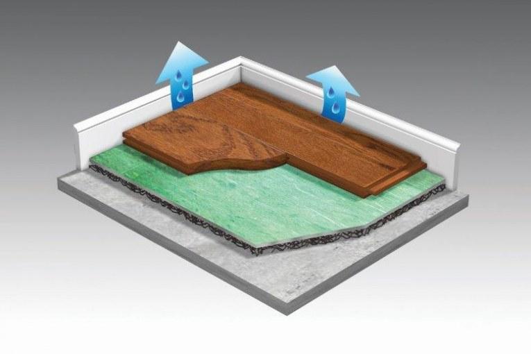 Quick Tip: A Solution for Concrete Moisture Emission