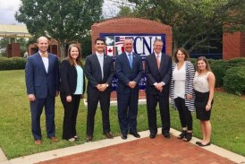 Congressman Visits TCNA To Discuss Policy Issues in the Ceramic Tile Industry