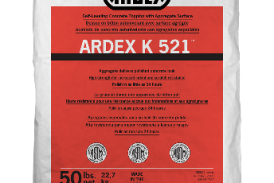 ARDEX Releases K 521 Self-Leveling Concrete Topping with Aggregate Surface