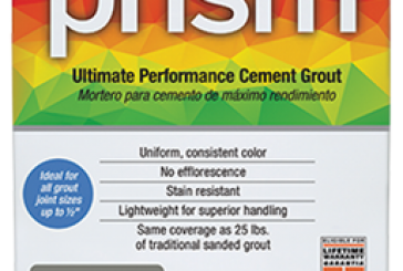 Custom Building Products Repackages Prism Ultimate Performance Cement Grout