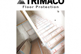 Trimaco White Top Construction Flooring Paper