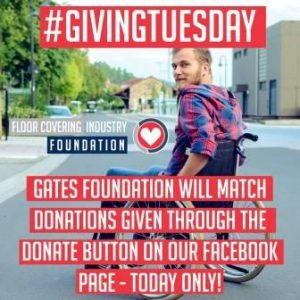 Floor Covering Industry Foundation #GivingTuesday