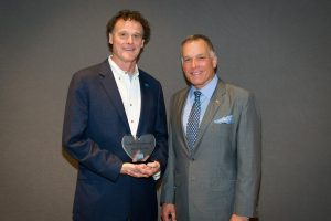 LATICRETE Chairman and CEO David A. Rothberg with Edward Metcalf, North America President & COO