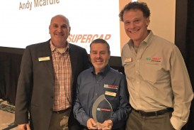 LATICRETE SUPERCAP Honors First-Ever Applicator of the Year and Spirit of SUPERCAP