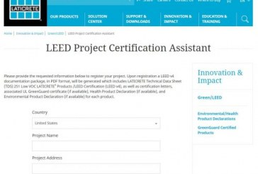 LATICRETE Introduces Enhanced LEED Project Certification Assistant