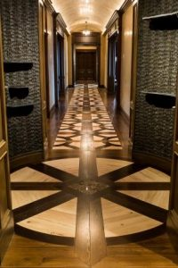 Best Circular/Curved Application: Acorn Hardwood Flooring Inc., Sylmar, California
