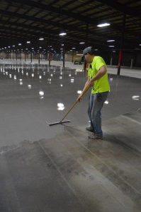 Successful Application of Self-Leveling Underlayment