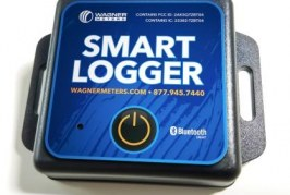 Wagner Meters' New Smart Logger™ Utilizes Bluetooth Technology