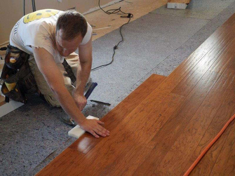 Selecting The Proper Flooring Underlayment For The Job