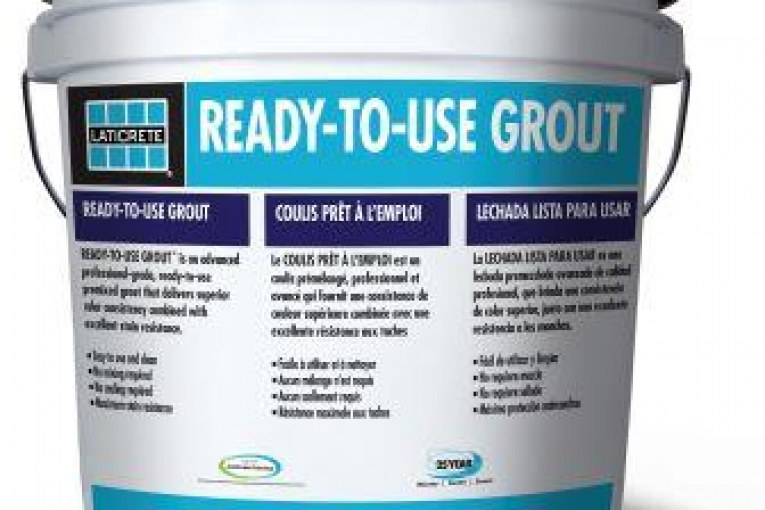 LATICRETE Introduces Ready-to-Use Grout for Installation Pros