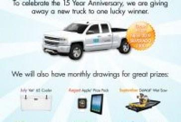Laticrete announces 6 month prize promotion!