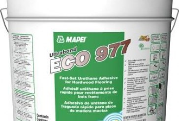 MAPEI's New Ultrabond ECO 977 Fast-Set Adhesive Over High-Moisture Concrete