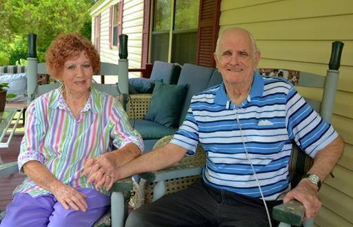 Nancy and Frank Majors