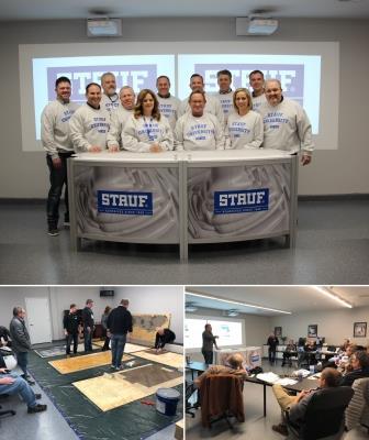 Stauf Hosts Second Stauf University Training Session