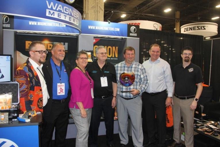 Fishman Flooring Named Wagner Meters' Distributor of the Year