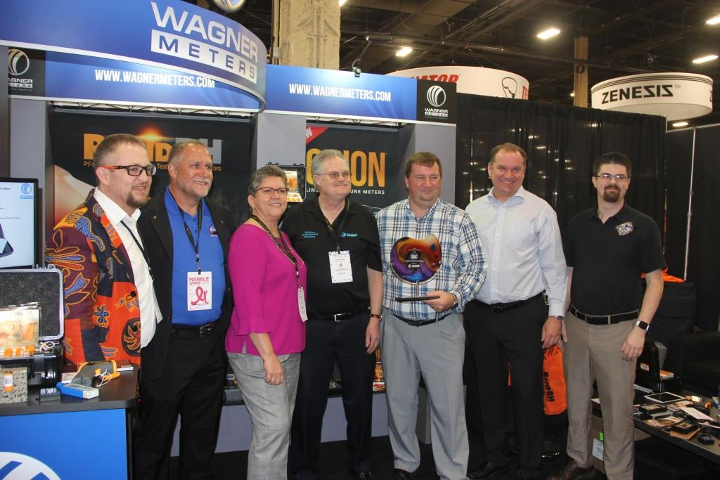 Fishman Flooring Named Wagner Meters' Distributor of the Year