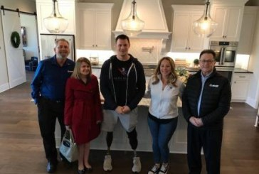 MAPEI Helps Welcome Wounded Hero to New Smart Home