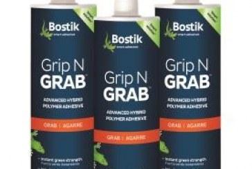 Bostik Introduces Grip N Grab, Time-Saver for Vertical Tile Applications